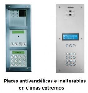 tipos de placas portero electrónico 2